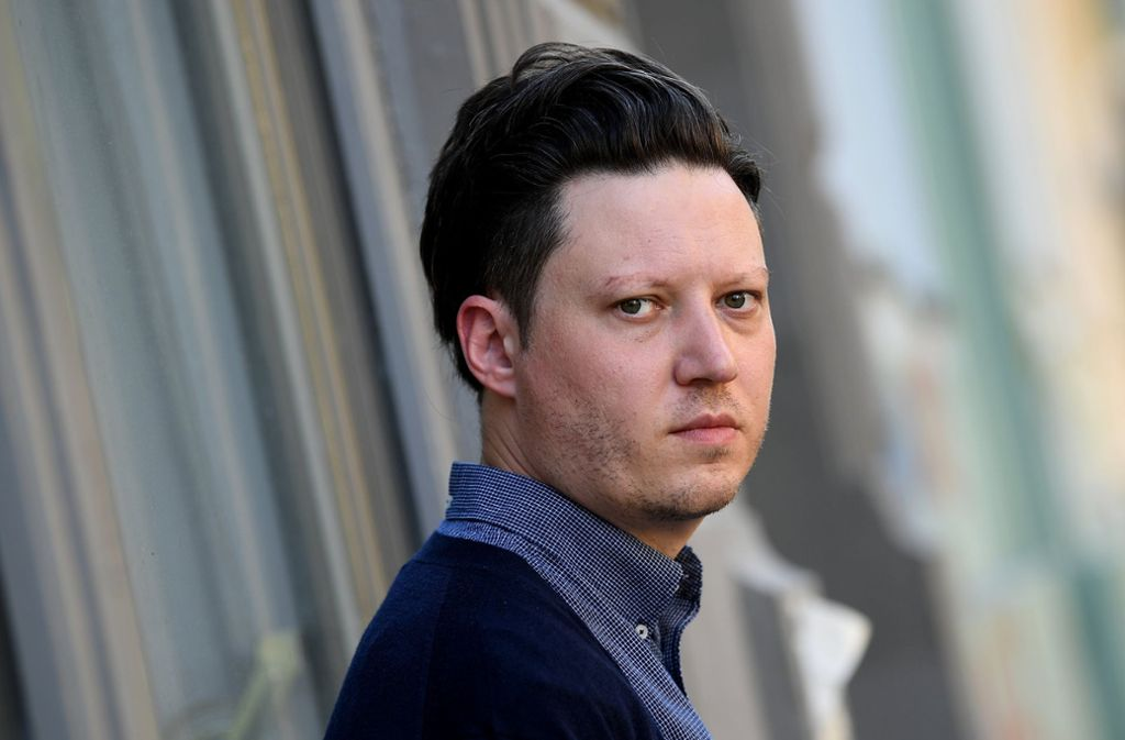 Der Musiker Konstantin Gropper Foto: dpa-Zentralbild