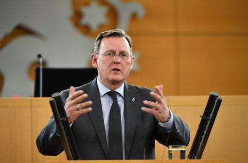 Thüringens Ministerpräsident wirbt für neue Nationalhymne