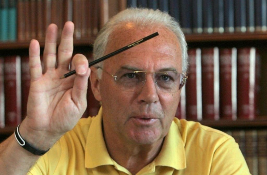 Weltmeister, Lichtgestalt, Fußballzauberer: das alles ist und war Franz Beckenbauer, der an diesem Freitag seinen 70. Geburtstag feiert. Foto: