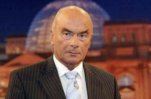 Ex-Innenminister Jörg Schönbohm gestorben