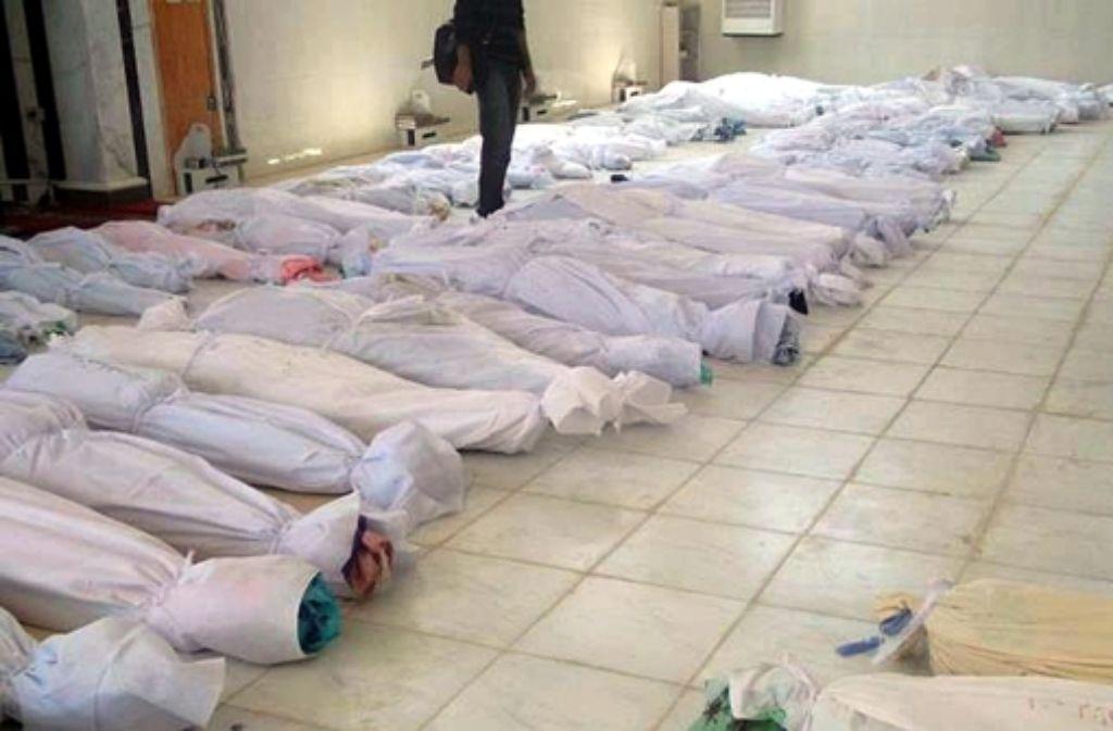 Das Massaker von Hula hat die Welt schockiert. Foto: dpa