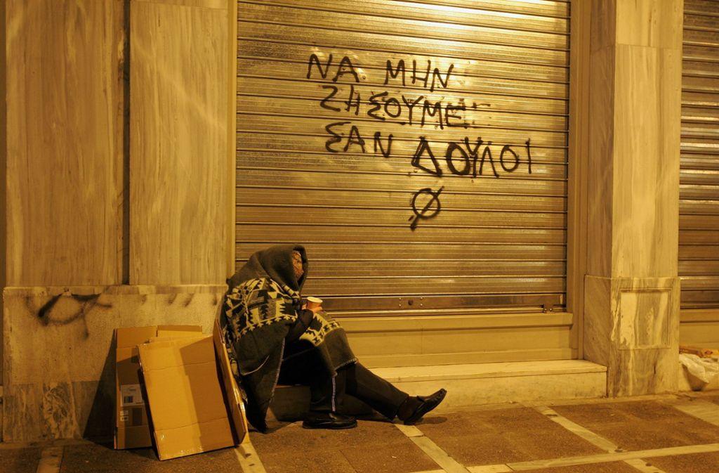 Die griechische Regierung kann ihren Gläubigern Erfolge vorweisen  – wie die Stimmung in der Bevölkerung ist, steht auf einem anderen Blatt. Foto: dpa