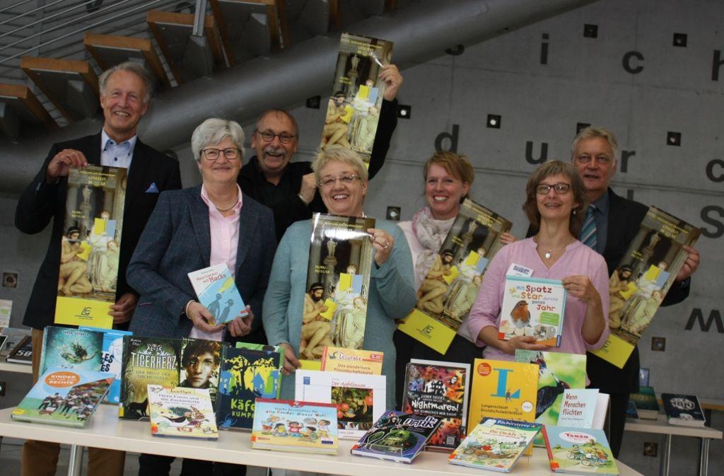 Die Stadt, Unternehmer, Schulen und Büchereien ziehen für die Leseförderung in Leinfelden-Echterdingen an einem Strang. Foto: Natalie Kanter