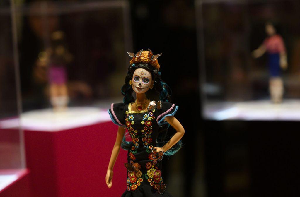 Kritiker bemängeln, Mattel missbrauche  die mexikanische Kultur um sie für wirtschaftliche Zwecke zu missbrauchen. Foto: AFP/PEDRO PARDO
