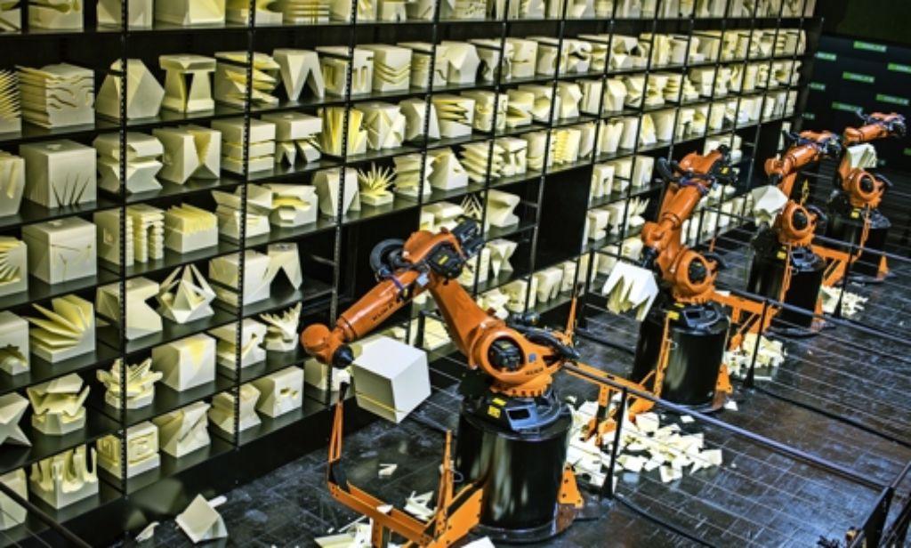 2015 sorgte Code-n mit  Robotern auf der IT-Messe Cebit für Aufmerksamkeit. Foto: dpa