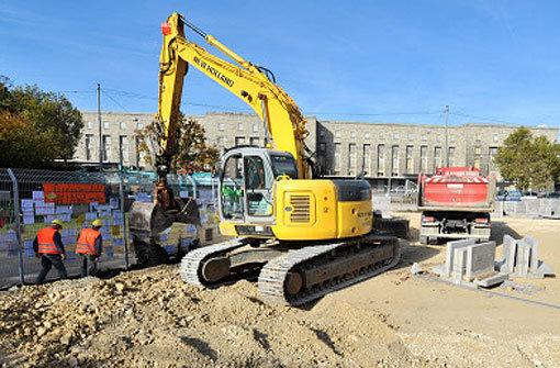 Zurzeit ruhen die meisten Bauarbeiten für Stuttgart 21. Foto: dpa