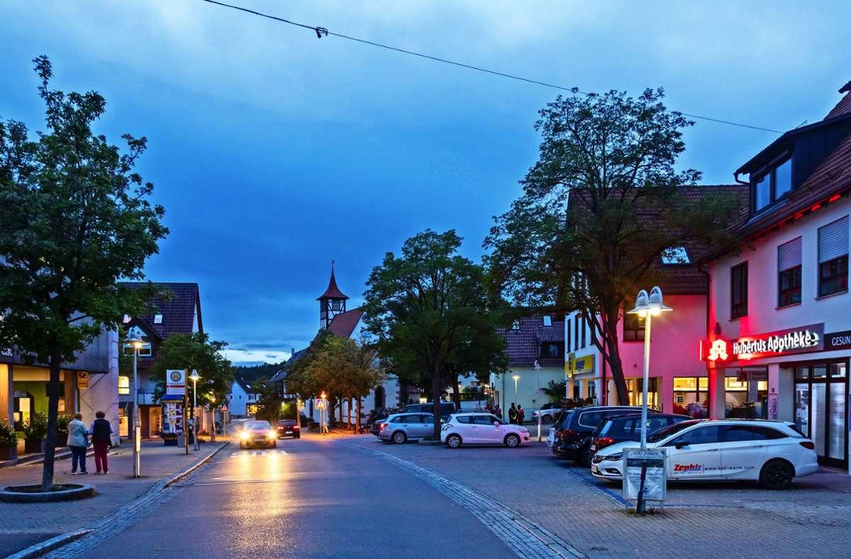 Die Stadt hat viel vor in der  Ortsmitte von Musberg.Diese gilt seit Kurzem   als Sanierungsgebiet.  Doch zunächst müssen aktuelle Schwierigkeiten  bewältigt werden. Foto: T. Krämer