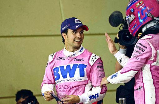 Sergio Perez und die neuen Flügel