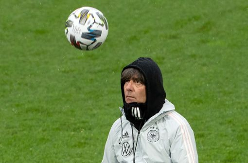 Die wichtigsten Momente des Bundestrainers    in Bildern