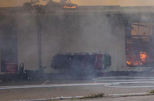 Mindestens eine Million Euro Schaden nach Brand