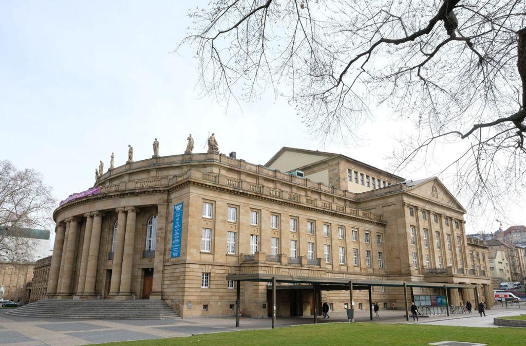 Die Stuttgarter Oper soll saniert werden. Das wird voraussichtlich vier bis fünf Jahre dauern. Foto: dpa