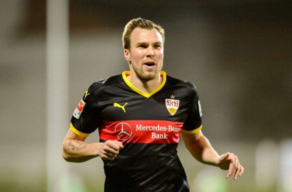 Kevin Großkreutz will den VfB in der Partie gegen Borussia Dortmund energisch  nach vorne treiben. Foto: dpa