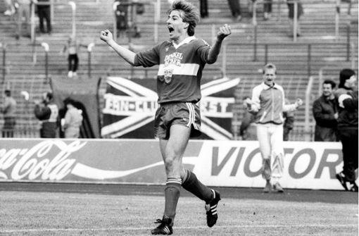 Jürgen Klinsmann  – der Fortuna-Schreck