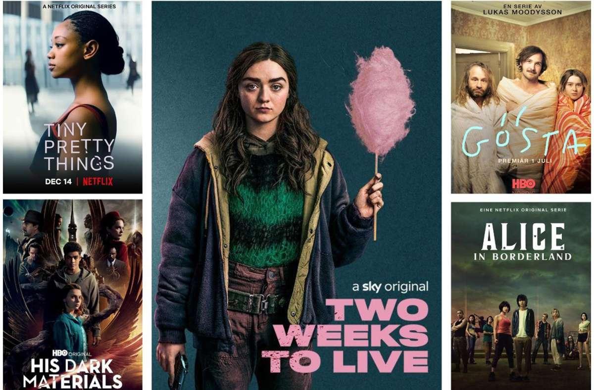 Der Dezember bietet Krimis, Dramen, Romanzen und Fantastisches. Unsere Bildergalerie verrät, welche zehn Serien Sie in diesem Monat im Blick haben sollten. Foto: Netflix (2), HBO (2), Sky