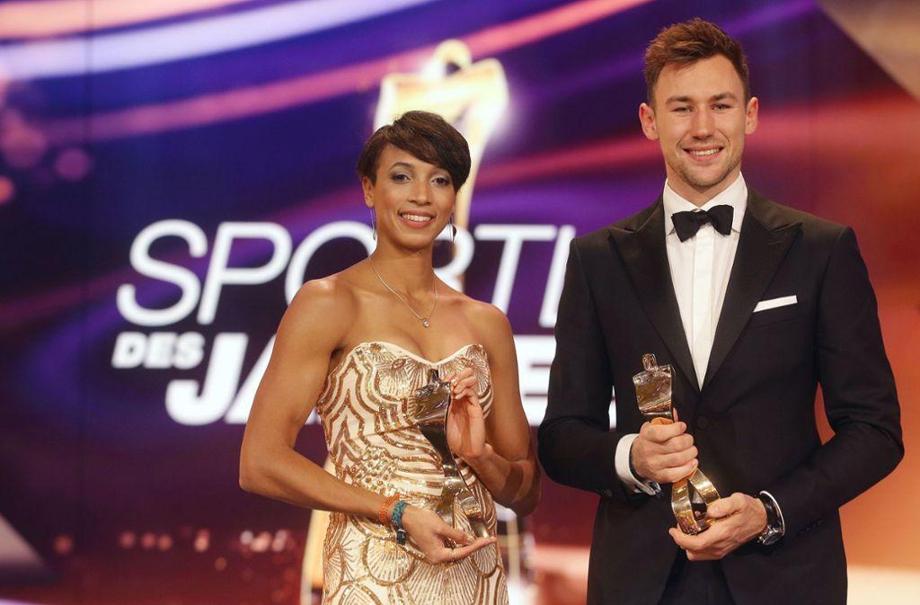 Sportler des Jahres sind Malaika Mihambo und  Niklas Kaul. Foto: Pressefoto Baumann/Hansjürgen Britsch