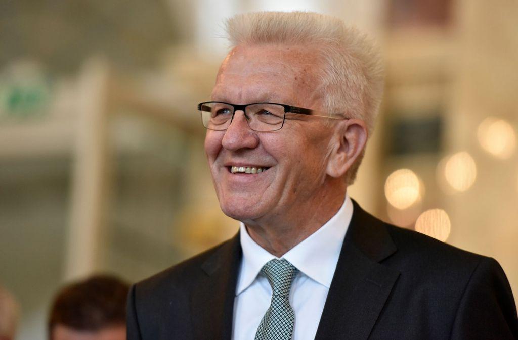 Baden-Württembergs Ministerpräsident Winfried Kretschmann hat sich mit Bundesverkehrsminister Andreas Scheuer getroffen (Archivbild). Foto: 7aktuell.de | Oskar EYB