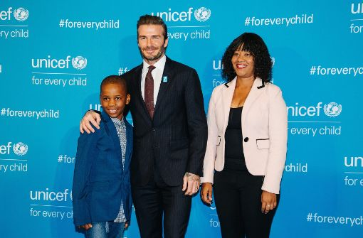 David Beckham, Orlando Bloom und Co. bei Unicef-Gala