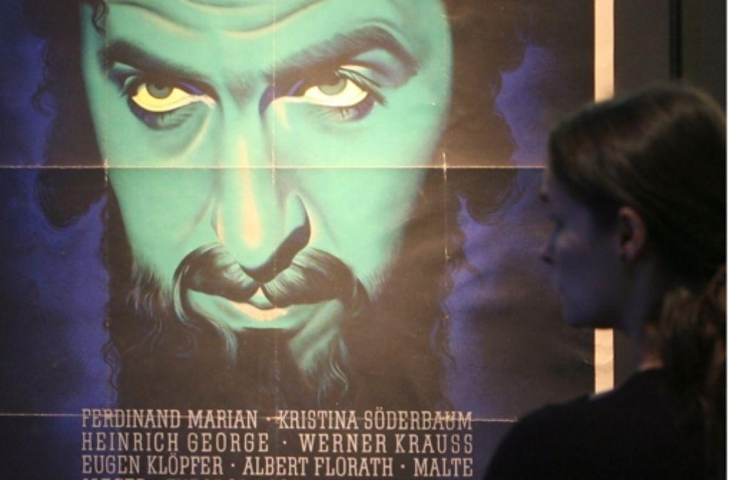 """""""Jud Süß"""" gilt als einer der bekanntesten Hetzfilme der NS-Propaganda. Foto: dpa"""