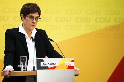 Der Orkan in der CDU