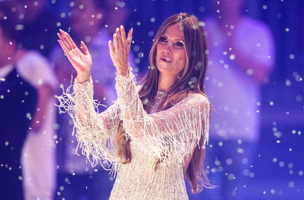 Heidi Klum moderiert die 14. Staffel der Topmodel-Show diesmal ganz alleine. Foto: dpa