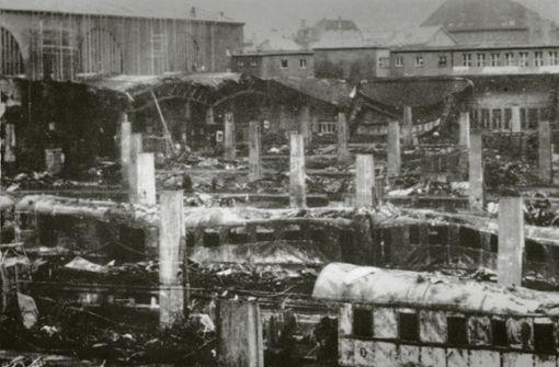 Tödlicher Luftangriff am  Totensonntag