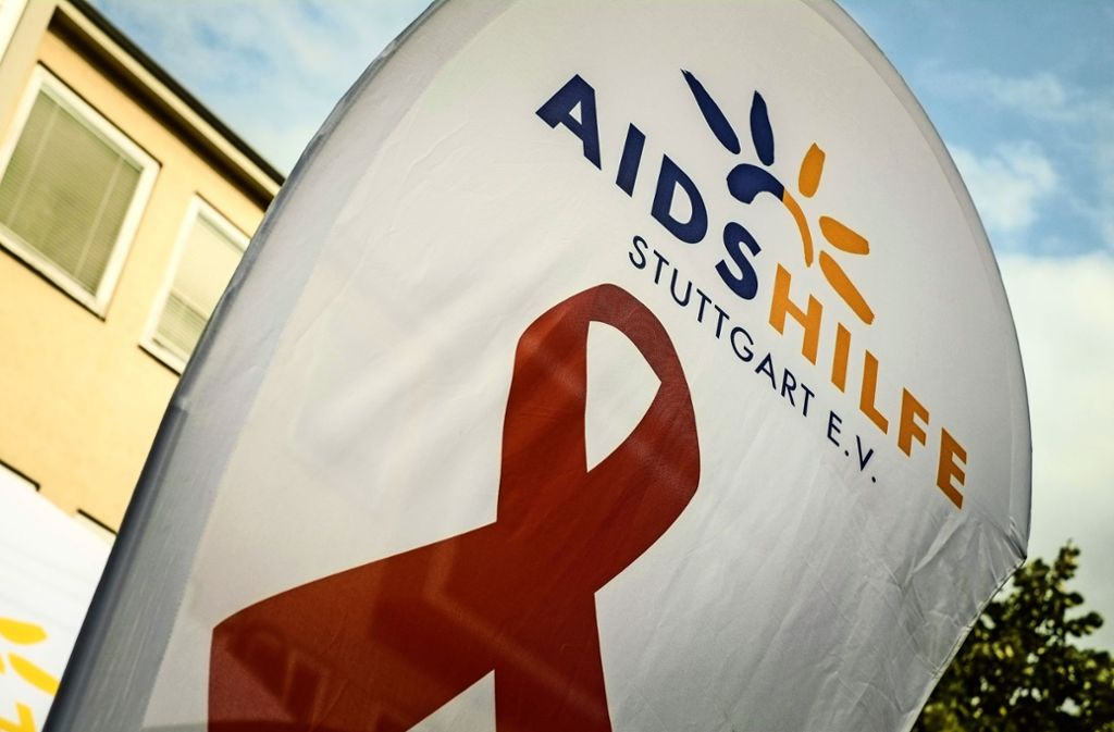 Anlässlich des Welt-Aids-Tags am Sonntag veranstaltet die   Aids-Hilfe mehrere Aktionen. Mit der Kirche geht man in diesem Jahr getrennte Wege. Foto: Lichtgut/Max Kovalenko/Lichtgut/Max Kovalenko