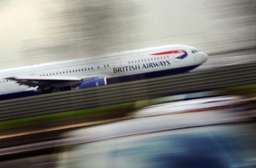 Orkantief bringt Flugpassagiere schneller ans Ziel