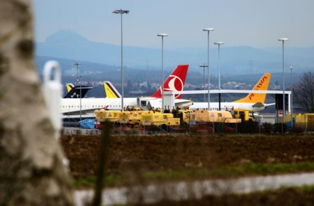 Der Flughafen dehnt sich nicht nach Echterdingen aus. Foto: Norbert J. Leven