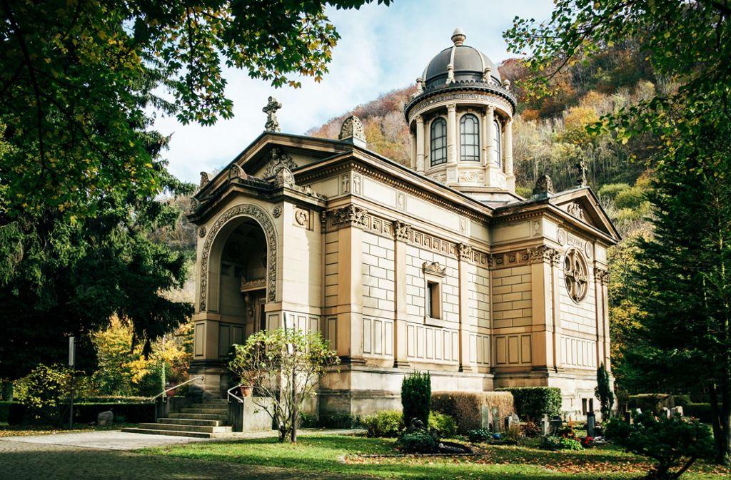 Ein Mausoleum für einen viel zu früh gestorbenen Sohn: Grabkapelle der Familie Straub in Geislingen Foto: Nicklas Santelli