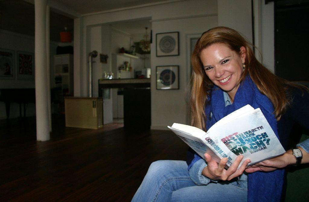 Seit einem Jahr veranstaltet Caroline Grafe im Westquartier  Lesungen. Foto: Benjamin Schieler