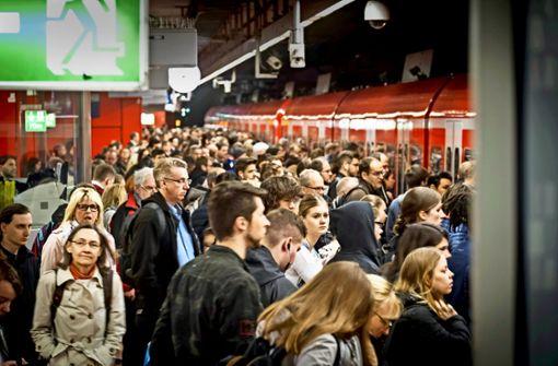 S-Bahnen bleiben konstant unpünktlich