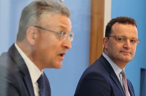 Gesundheitsminister für lokale Beschränkungen nach Corona-Ausbruch