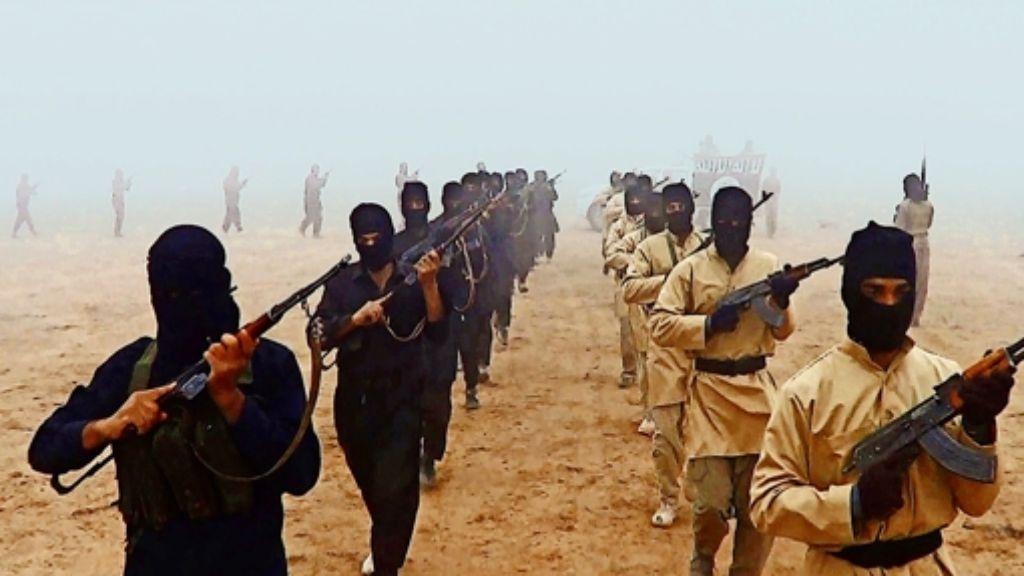 """Die Miliz des Islamischen Staates stößt in  das Machtvakuum des Mittleren Ostens vor. Sie vertrete eine """"bizarr verdrehte Variante des Islam"""", sagt Heiner Bielefeldt. Foto: dpa,  Rafael"""