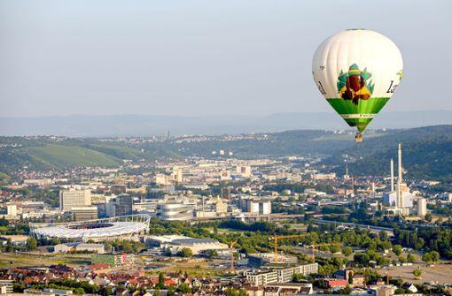 So war die Fahrt mit dem Riesen über Stuttgart