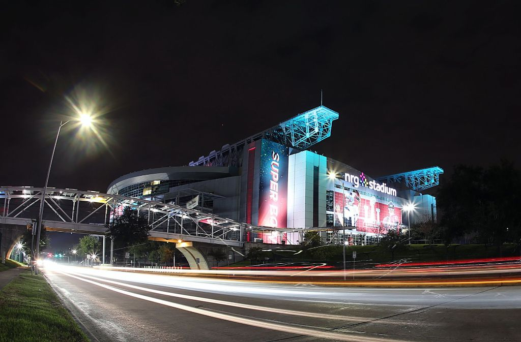 Im NRG-Stadium in Houston steigt am Sonntag der 51. Superbowl. Foto: Cal Sport Media