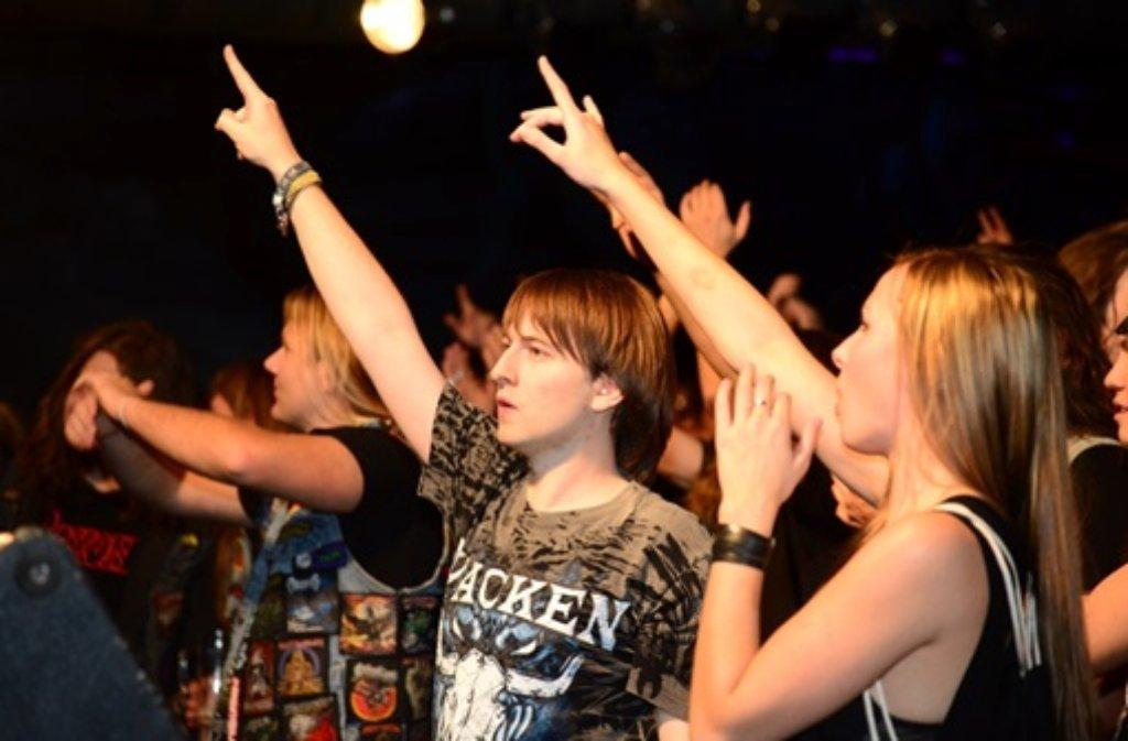 Am Samstagabend hat die Rockfabrik Ludwigsburg ihren 30. Geburtstag gefeiert.  Foto: FRIEBE PR/ Sven Friebe