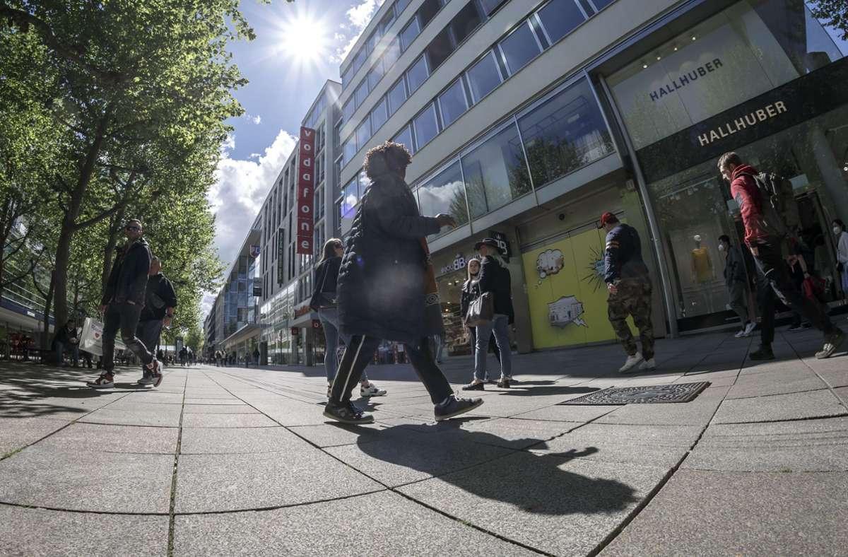 Auch die Händler an der Königstraße in Stuttgart leiden unter der Coronakrise. (Archivbild) Foto: Lichtgut/Julian Rettig