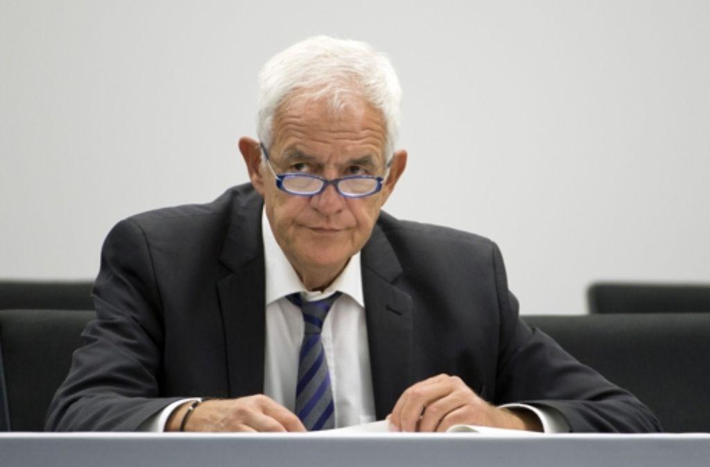 Justizminister Rainer Stickelberger (SPD) Foto: dpa