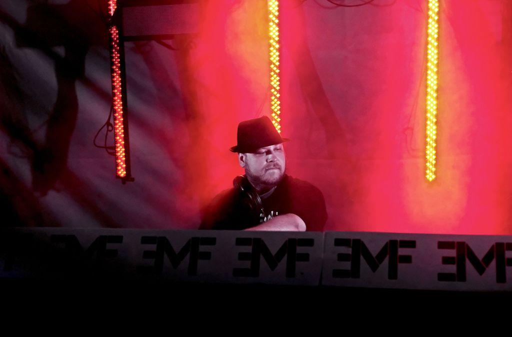 Matthias Teifl hat auch beim Ganerbenfest elektronische Musik aufgelegt. Foto: EMF