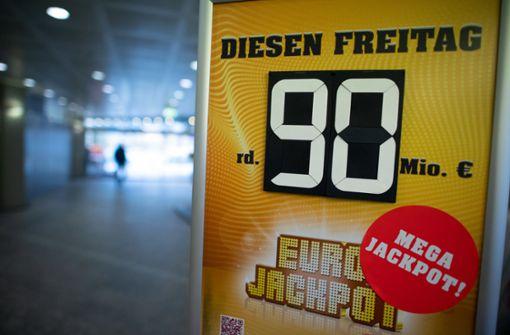 Eurojackpot ist mit 90 Millionen Euro gefüllt