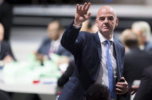 DFB-Spitze begrüßt neuen Fifa-Präsidenten