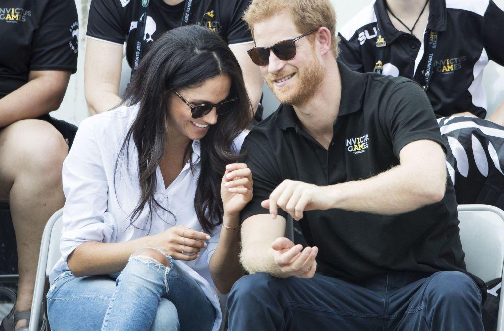 Der britische Prinz Harry und die US-Schauspielerin Meghan Markle haben sich verlobt. Foto: PA Wire