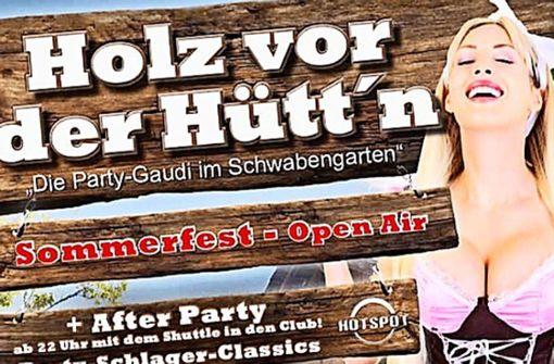 Werberat prüft Dirndl-Poster nach Kritik