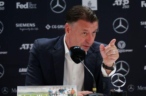 Stuttgarter Turnierchef Edwin Weindorfer ist sauer auf Paris