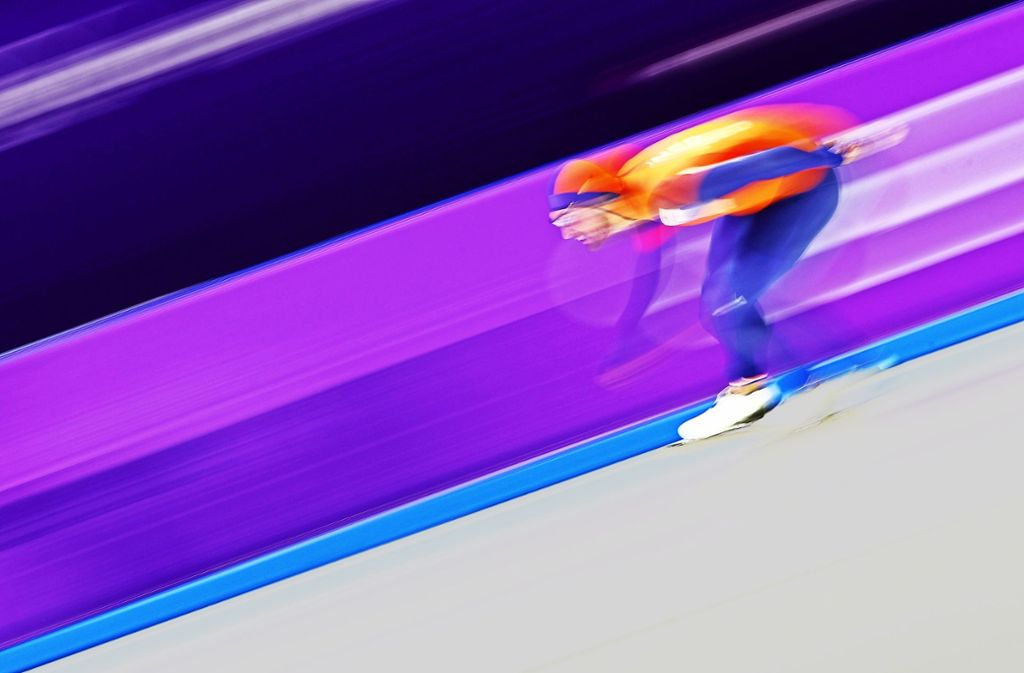 Rasantes Tempo: Goldmedaillengewinner Kjeld Nuis Foto: Getty