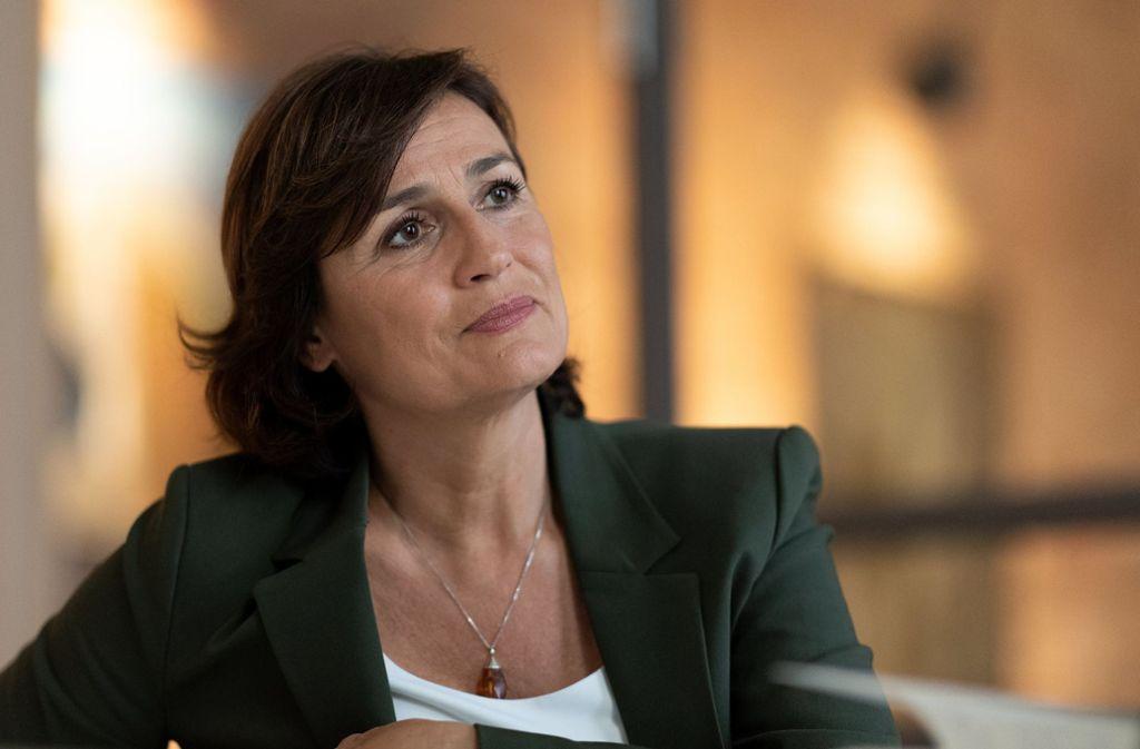 Sandra Maischberger versucht es in der ARD mit einem neuen Format. Foto: dpa/Monika Skolimowska