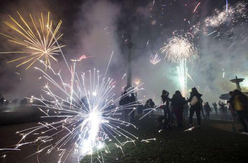 Feiern in Stuttgart verlaufen weitgehend friedlich