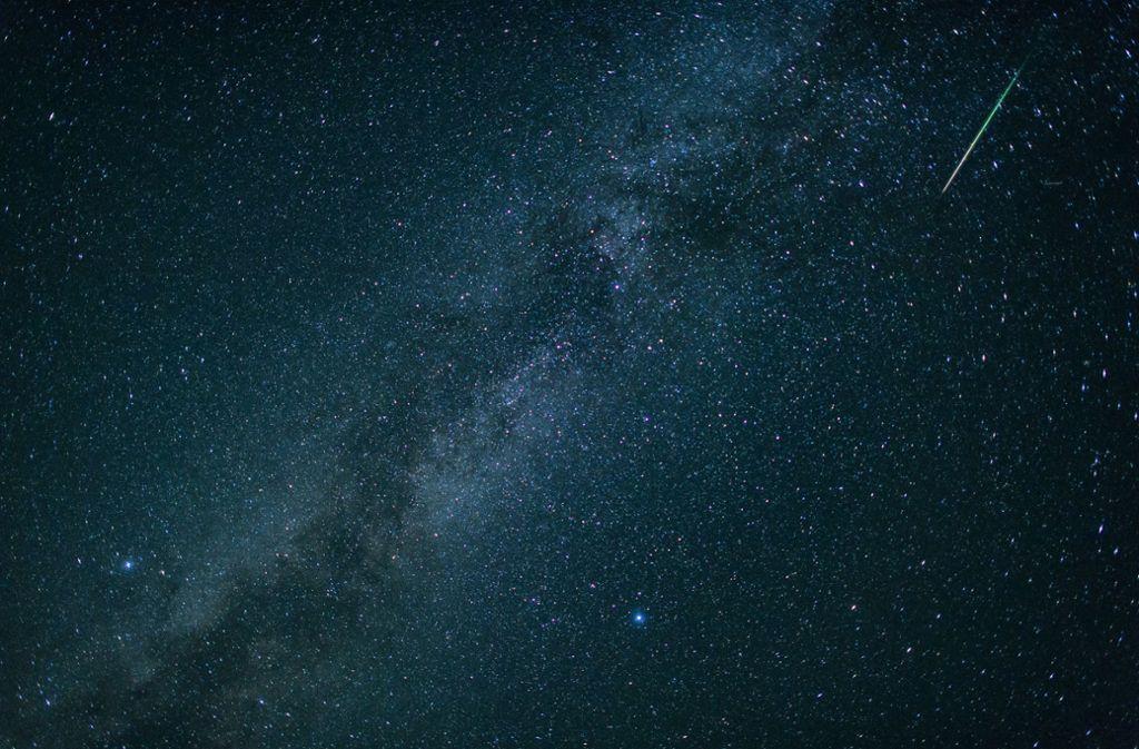 Die Leoniden sind nach dem Sternbild Löwe benannt, aus dessen Richtung sie scheinbar auftauchen. Foto: dpa