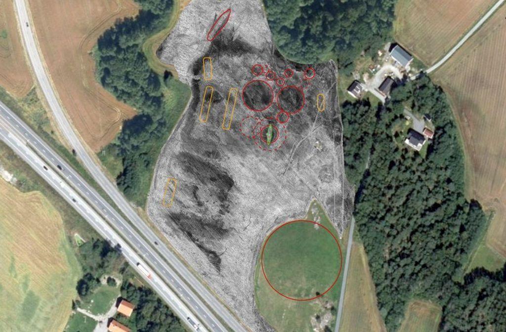 Der Fundort in Südnorwegen. Foto: Niku