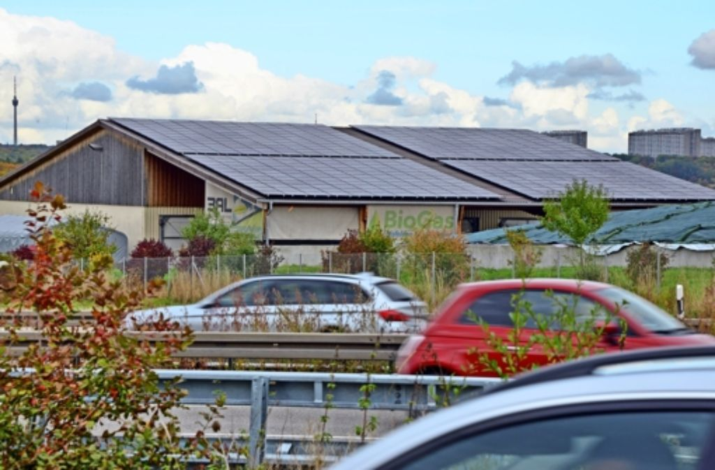Die Biogasanlage in Echterdingen liefert den größten Anteil des in der Großen Kreisstadt mittlerweile umweltfreundlich erzeugten Stroms.Mit der insgesamt erzeugten Menge könnte die Hälfte der Haushalte mit elektrischer Energie versorgt werden. Foto: Norbert J. Leven